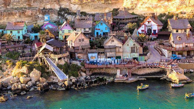 Popeye Village, lugar en Malta para celebrar el 90 aniversario del conocido marinero
