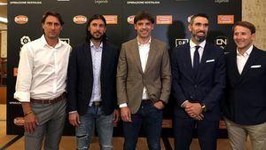 Partido entre leyendas internacionales de futbol