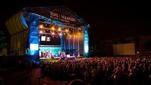 Los míticos Boney M. actúan en el Festival Sons del Món de Rosas