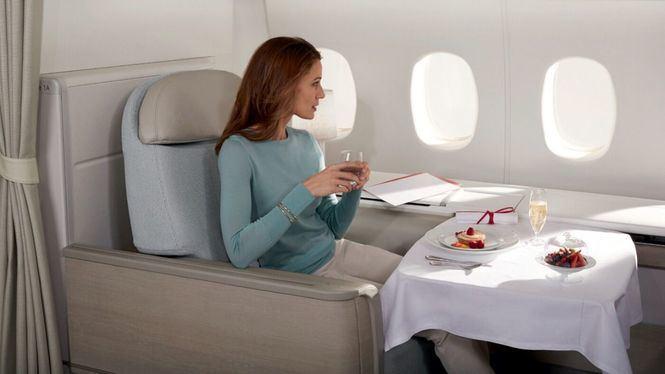 Air France premiada por su servicio en la clase La Première