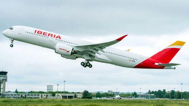 El Airbus A350 de Iberia aterriza en Chicago por primera vez