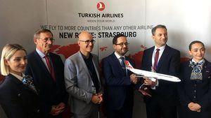 Turkish Airlines lanza de nuevo vuelos directos a Estrasburgo