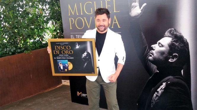 """Miguel Poveda: """"Aun tengo que aprender mucho"""""""