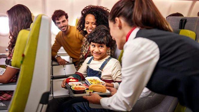 Condiciones especiales para las familias que viajen con niños en TAP