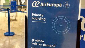 Air Europa amplía su servicio Priority Boarding a todos los aeropuertos donde opera