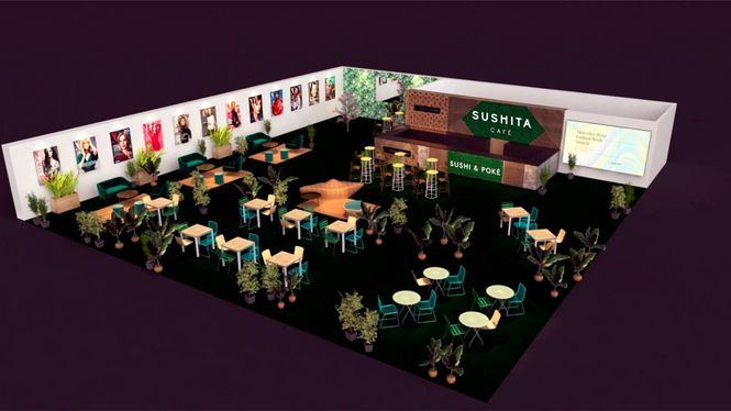 Sushita Café por primera vez en la Mercedes Benz Fashion Week