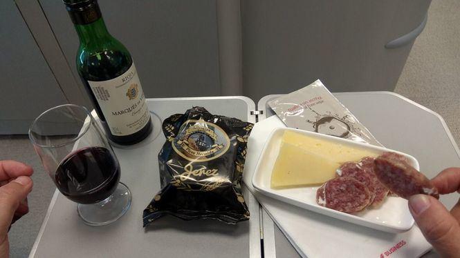 Iberia da a conocer la gastronomía española este vernao