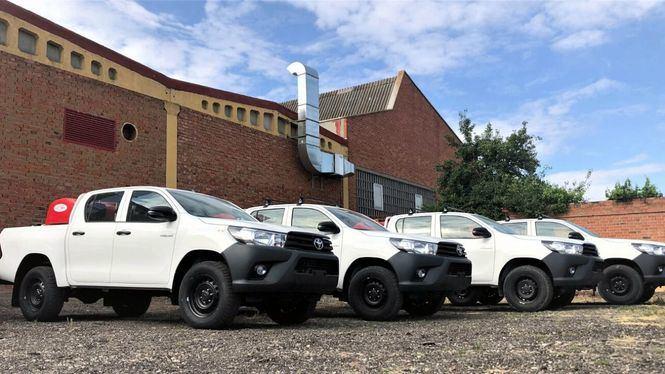 Alquiber ofrece una completa flota de vehículos anti-incendios