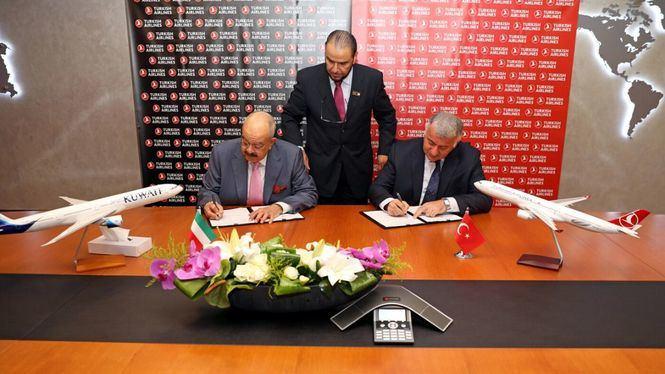 Turkish Airlines y Kuwait Airways inauguran una nuevos vuelos de código compartido