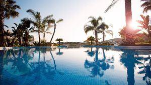 Dolce Sitges. Zona de piscinas