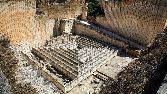 Las canteras de piedra de Líthica escenario del Festival Pedra Viva