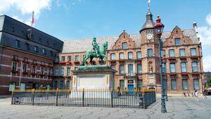 Dusseldorf. Plaza del Mercado