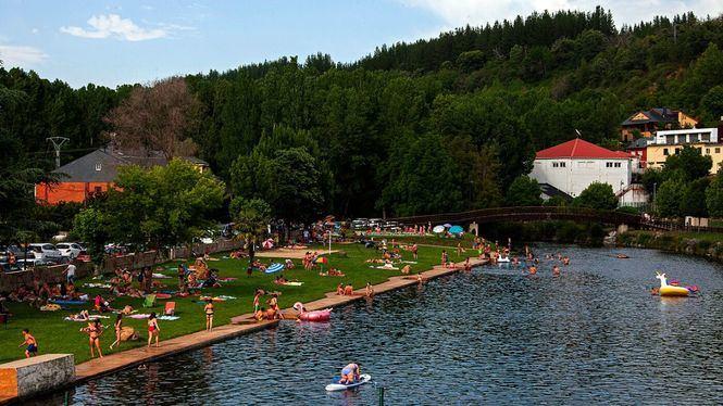 Las playas fluviales algunas de las propuestas de El Bierzo para este verano