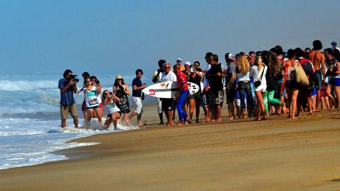 Hossegor, capital del surf en Las Landas francesas