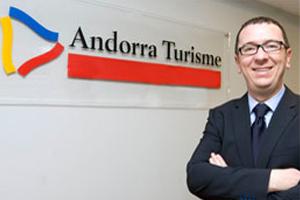 Betim Budzaku Director General de Andorra Turisme