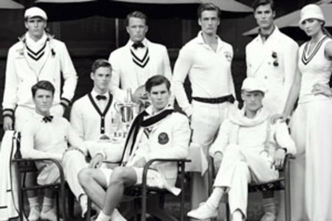 Ralph Lauren celebra el 10 aniversario como patrocinador oficial del campeonato de Winbledon