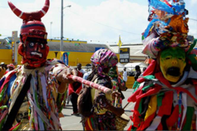 Jonkonnu, una Navidad diferente en Jamaica