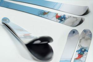 Kustom Skis: el esquí de alta gama personalizable