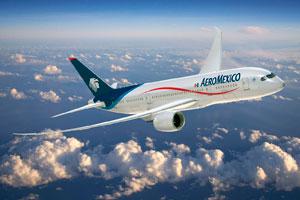 Aeroméxico, la aerolínea líder en número de destinos en América Latina