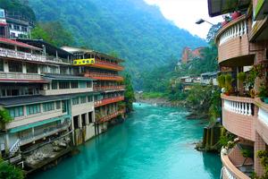 Taiwán, el reino de las aguas termales
