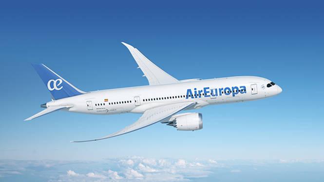Air Europa vuela ya a Montevideo, con la flota Dreamliner