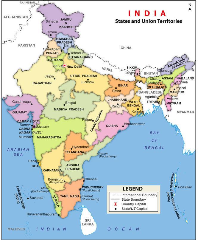 Magic India: La Vida En Movimiento