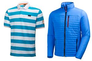 El horizonte y las líneas marineras inspiran la nueva colección Sportswear masculina de Helly Hansen
