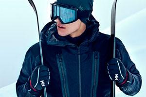 EQ Red, la colección de esquí de lujo de Helly Hansen