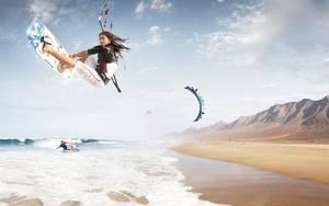 Mejores lugares de España para practicar Kitesurf
