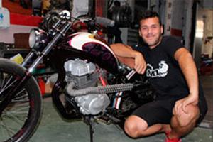 N0a DeSign (ROBERTO FERNÁNDEZ SEGURA), artista diseñador y constructor de motos y bicicletas