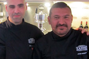 Jonatan Armengol (Izquierda), Javier Brichetto (Derecha)