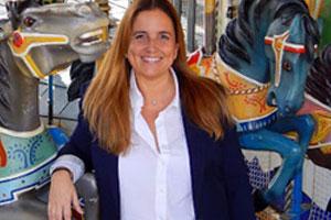 Amaya Ardura, nueva directora del parque de atracciones de Madrid: 'Es el premio a muchos años de esfuerzo y dedicación'