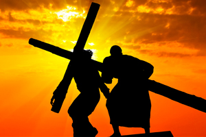 Semana Santa… silencio… Se representa la Pasión…