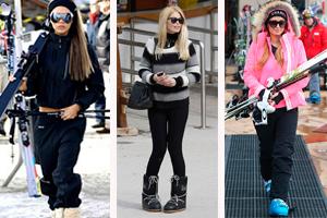 Las 5 estaciones de esquí donde viajan las celebrities más conocidas del mundo