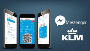 KLM emite 115.000 tarjetas de embarque a través de Facebook Messenger en el primer mes de utilización de este servicio