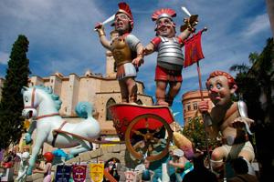 Fallas de Gandía, dramática y festiva unión entre el arte y el fuego