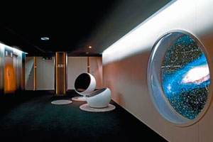 Interstellar Hotel, una estación orbital en plena Barcelona