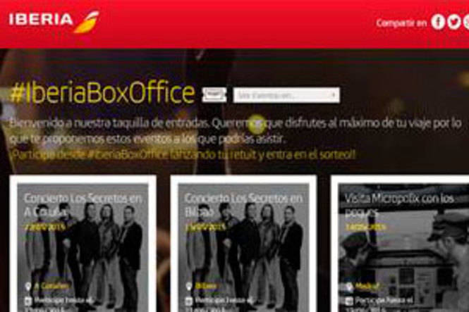 Iberia presenta Iberia Box Office