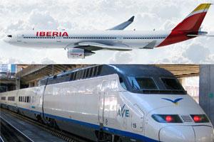 Iberia y Renfe conectan en un único billete más de 80 destinos internacionales con la alta velocidad