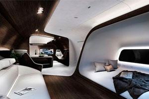 Lufthansa y Mercedes presentan el avión más lujoso