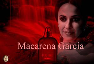La actriz Macarena García presentó el nuevo spot de la campaña Amor Amor de Cacharel