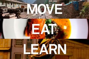 MOVE, EAT & LEARN by Rick Mereki