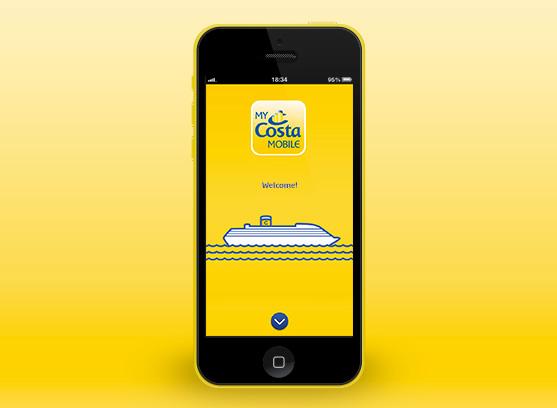 Nueva aplicación de Costa Cruceros, My Costa Mobile
