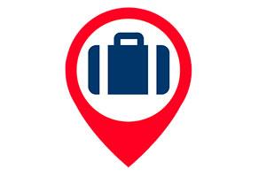 'No-luggage', la empresa que te lleva el equipaje cuando viajas
