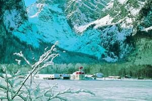 Invierno en Lago Koenigssee (Baviera Berchtesgaden)