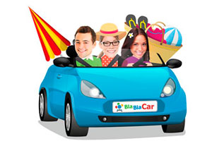 Mi primer viaje en coche compartido, BlaBlaCar