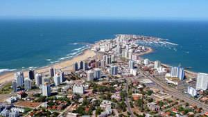Vista aérea Punta del Este