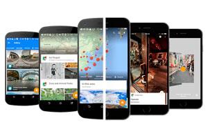 Google presenta la aplicación para móvil de Street View