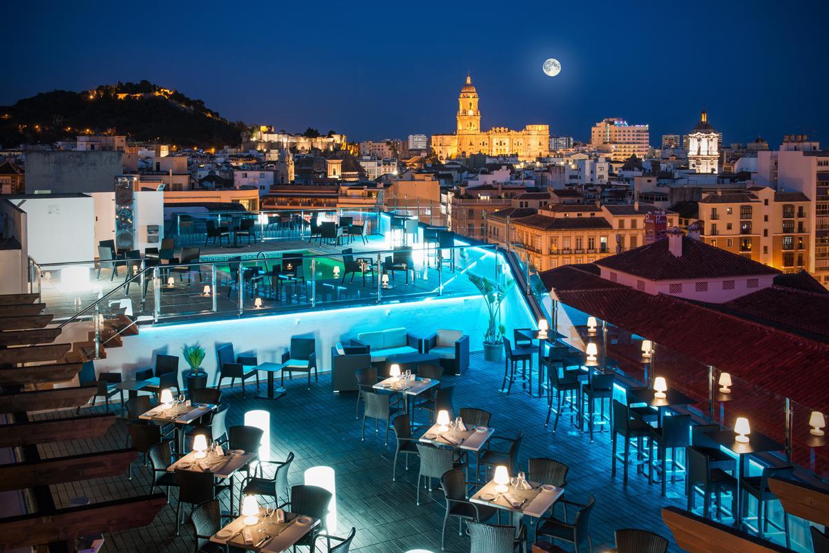 La terraza m s cool de m laga ya anima la capital de la - Fotos malaga capital ...