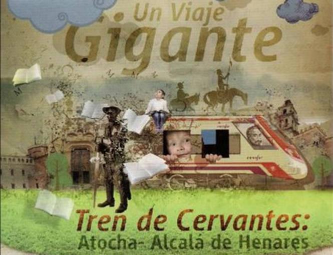 Vuelve el tren de Cervantes a Alcalá de Henares